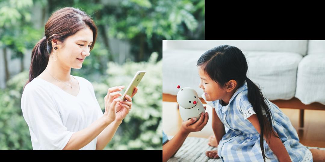 BOCCO emoと家族をつなぐ 特別なメッセージアプリ